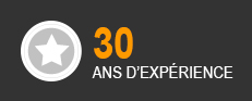 30 ANS D'EXPERIENCE
